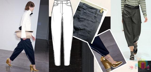 2014年女裤流行趋势 2013女裤流行趋势 女裤流行趋势 高清图片