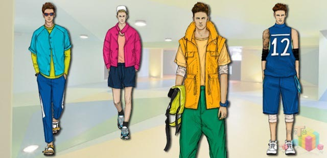 春夏男装,男装流行,男装面料流行趋势,流行男装